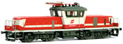 Austrian Electric Locomotive Class 1163.008 of the OBB