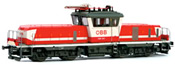Austrian Electric Locomotive 1163.011 of the OBB (DCC Sound Decoder)