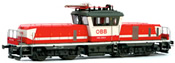 Austrian Electric Locomotive 1163.012 of the OBB (DCC Sound Decoder)