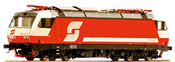 Austrian Electric Locomotive Class 1822.001 of the OBB