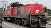 Austrian Electric Locomotive Series 1064.006 of the OBB