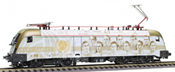 "Jagerndorfer JC28072 Hungarian Electric Locomotive ""Gold Team"" of the MAV (DCC Sound Decoder)"