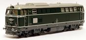 Austrian Diesel Locomotive 2043.08 of the OBB