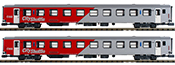 2-Car Austrian City Shuttle Passenger Car Set