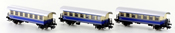 3pc Passenger Coach Set type Bi