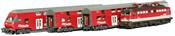 Austrian Diesel Dosto Set with BR 1142 Locomotive of the OBB