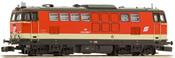 Austrian Diesel Locomotive Series 2143.008 of the OBB