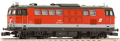 Austrian Diesel Locomotive Series 2143.021 of the OBB