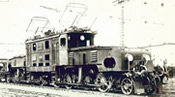 German Electric Locomotive BR E 89 of the DRG (Sound)