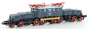 Austrian Electric Locomotive E89 107 of the DRG of the BBO (Sound)