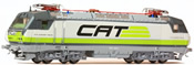 Austrian Electric Locomotive Reihe 1014.005 CAT of the OBB