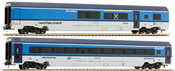 2pc Austrian Railjet Basic add on Set of the CD