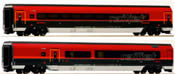 2pc Add On Car Set for Railjet HE