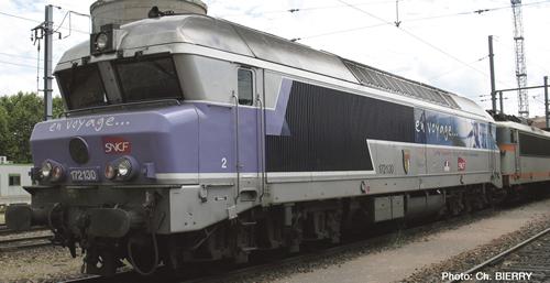 Jouef 2174 - Diesel Locomotive CC 72100 En voyage, SNCF