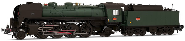 Jouef HJ2277 - French Steam Locomotive 141 R 1155 of the SNCF (DCC Sound Decoder)