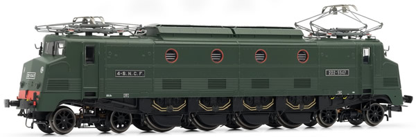 Jouef HJ2284S - French electric locomotive 2D2 5500 of the SNCF; Waterman period III; V2  DC Digital with Sound