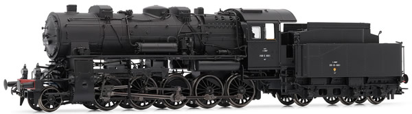 Jouef HJ2297 - French steam locomotive 150 C (former AL) of the SNCF; period III