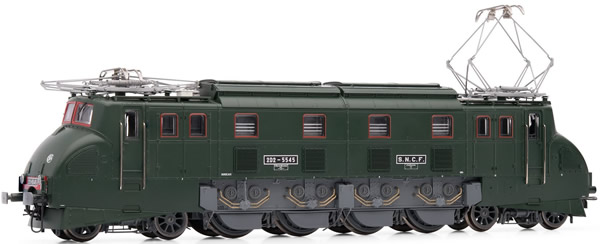 Jouef HJ2325 - French electric locomotive 2D2 5500 pregnant lady SNCF period IV with Sound
