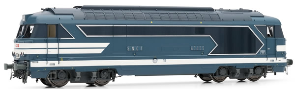 Jouef HJ2328 - French diesel locomotive BB 67400of the SNCF;  period IV