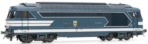 Jouef HJ2331 - French diesel locomotive BB 67400 of the SNCF; period IV/V; DC Digital with Sound