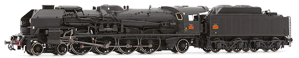 Jouef HJ2345S - French steam locomotive 241 P with servo-motor of the SNCF; tender 34 P; DC Digital with Sound