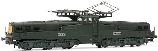 Jouef HJ2346 - French electric locomotive CC14100 of the SNCF; green/yellow livery