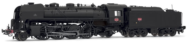 Jouef HJ2352S - French Steam Locomotive 141 R of the SNCF (DCC Sound Decoder)