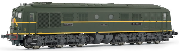 Jouef HJ2354S - French Diesel Locomotive CC65500 of the SNCF (DCC Sound Decoder)