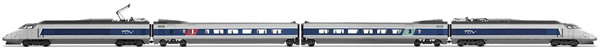 Jouef HJ2356S - French 4pc Electric TGV Sud -Est Train of the SNCF (DCC Sound Decoder)
