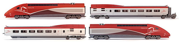 Jouef HJ2358ACS - French 4pc Electric Thalys PBKA of the SNCF (Sound Decoder)
