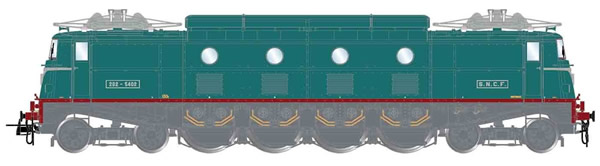Jouef HJ2368S - French Electric Locomotive 2D2 5402, GRG version of the SNCF (DCC Sound Decoder)