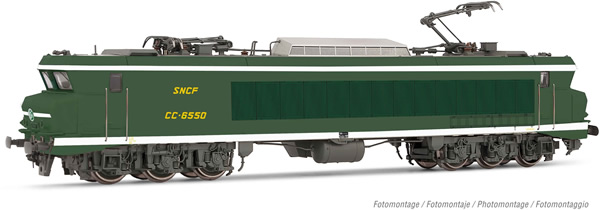 Jouef HJ2371S - French Electric locomotive CC 6550 of the SNCF (DCC Sound Decoder)