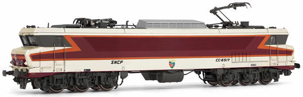 """Jouef HJ2372 - French Electric locomotive class CC 6517 """"Beffara"""" of the SNCF"""