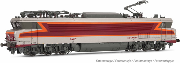 Jouef HJ2373S - French Electric locomotive CC 21001 of the SNCF (DCC Sound Decoder)