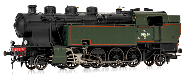 Jouef HJ2377 - French Steam locomotive 141 TA 318 of the SNCF
