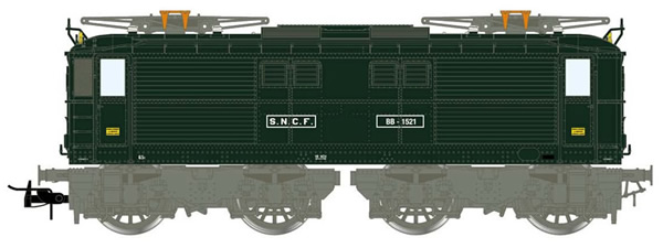 Jouef HJ2384 - French Electric Locomotive BB 1500 of the SNCF