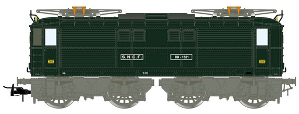 Jouef HJ2384S - French Electric Locomotive BB 1500 of the SNCF (DCC Sound Decoder)
