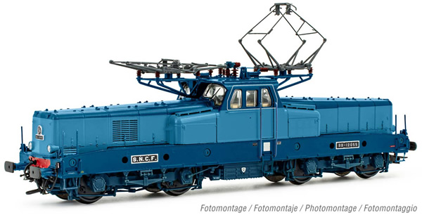 Jouef HJ2400S - French Electric locomotive class BB 12055 of the SNCF (DCC Sound Decoder)