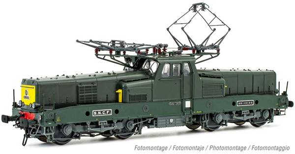 Jouef HJ2401S - French Electric locomotive class BB 12130 of the SNCF (DCC Sound Decoder)