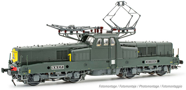 Jouef HJ2402S - French Electric locomotive class BB 13020 of the SNCF (DCC Sound Decoder)