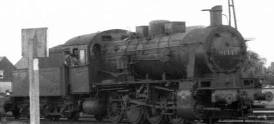 Jouef HJ2403 - Belgian Steam locomotive series 81 of the SNCB