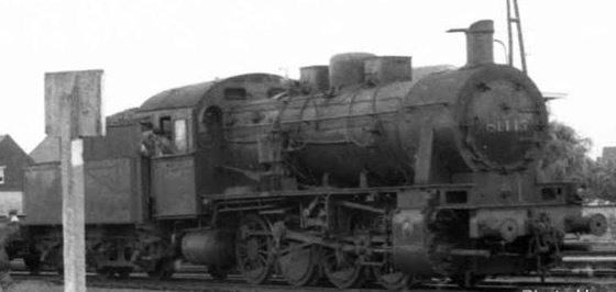 Jouef HJ2403S - Belgian Steam locomotive series 81 of the SNCB (DCC Sound Decoder)