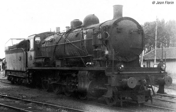 Jouef HJ2405S - French Steam locomotive 140 C 70, with tender 18 B 64 of the SNCF (DCC Sound Decoder)