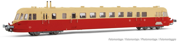 Jouef HJ2408S - French Diesel railcar ABJ 2 of the SNCF (DCC Sound Decoder)