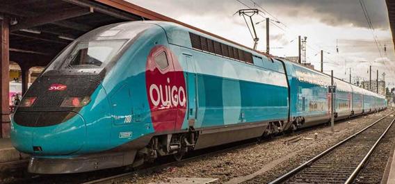 Jouef HJ2413S - French 4pc TGV Duplex OuiGo of the SNCF (DCC Sound Decoder)