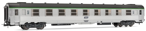Jouef HJ4110 - French DEV inox B9tj 2nd class coach of the SNCF