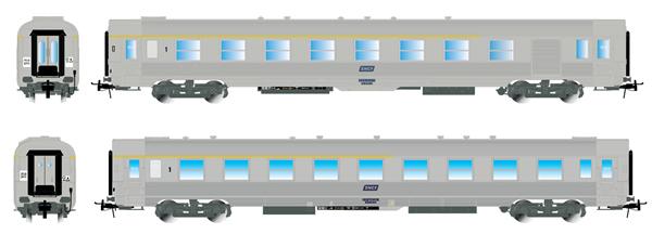 Jouef HJ4136 - 2pc set DEV Inox, A5r and A7Dtj