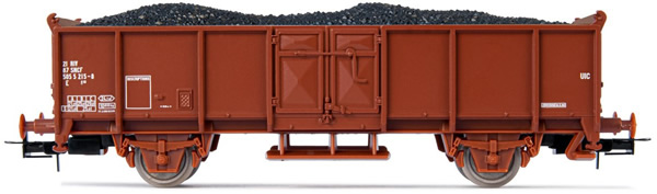 Jouef HJ5703 - Open wagon with coal load
