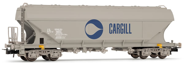 """Jouef HJ6158 - French flat sided hopper car of the SNCF; """"Cargill"""""""