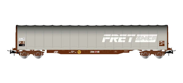 Jouef HJ6200 - Sliding tarpaulin wagon type Rils
